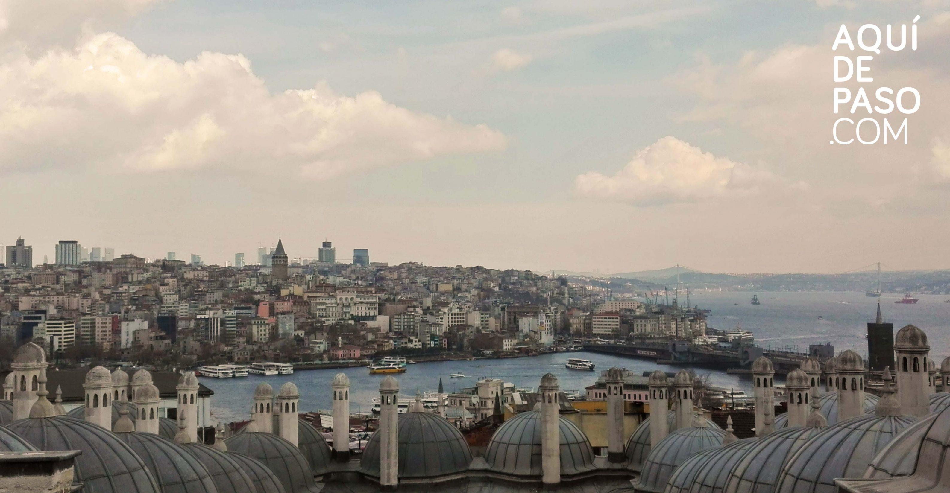 Estambul from the top - Aquidepaso.com