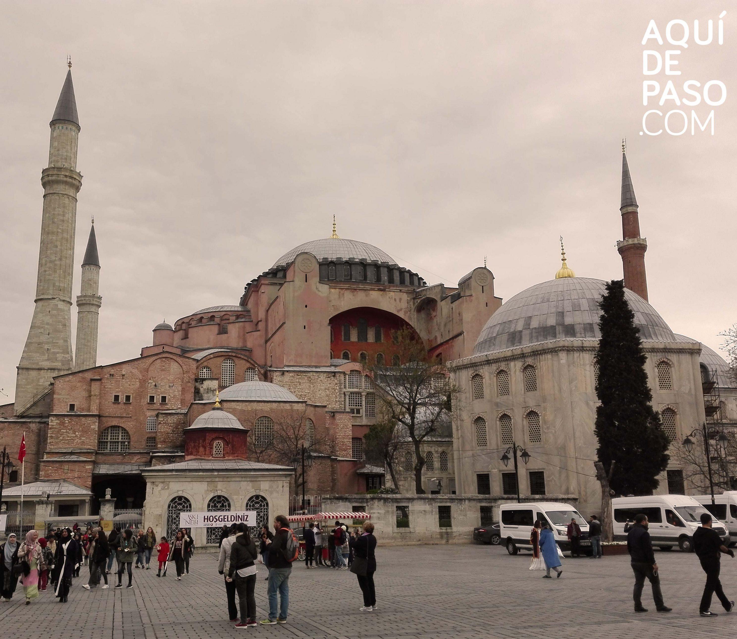 HAGIA SOPHIA - Estambul - aquidepaso.com