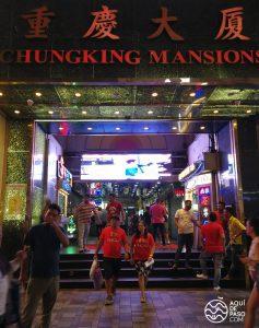 Chunking Mansions donde dormir en Hong Kong - Aquidepaso.com