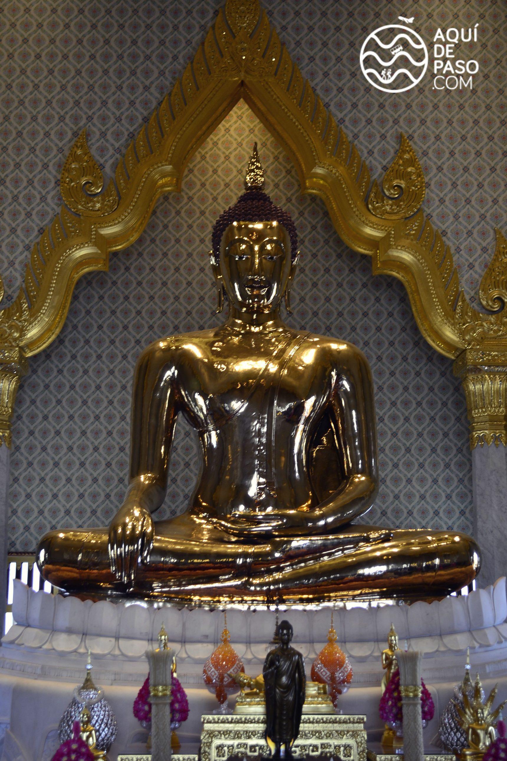 Buda reclinado, Bangkok