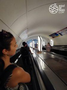 Subte más profundo del mundo, Kiev