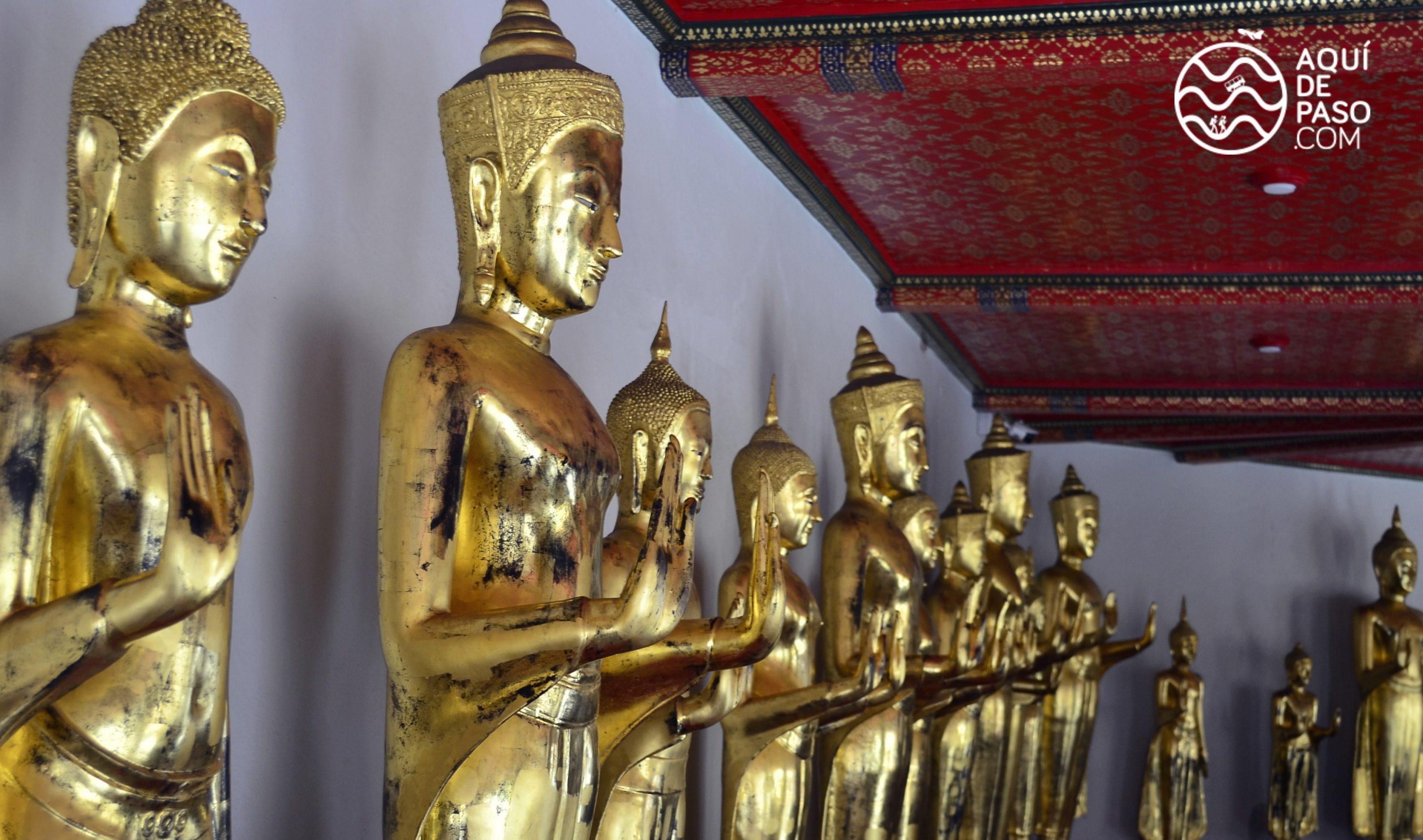 Templos en Bangkok, Buddha reclinado