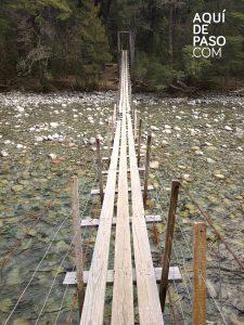 Puente El Bolson - Aquidepaso.com