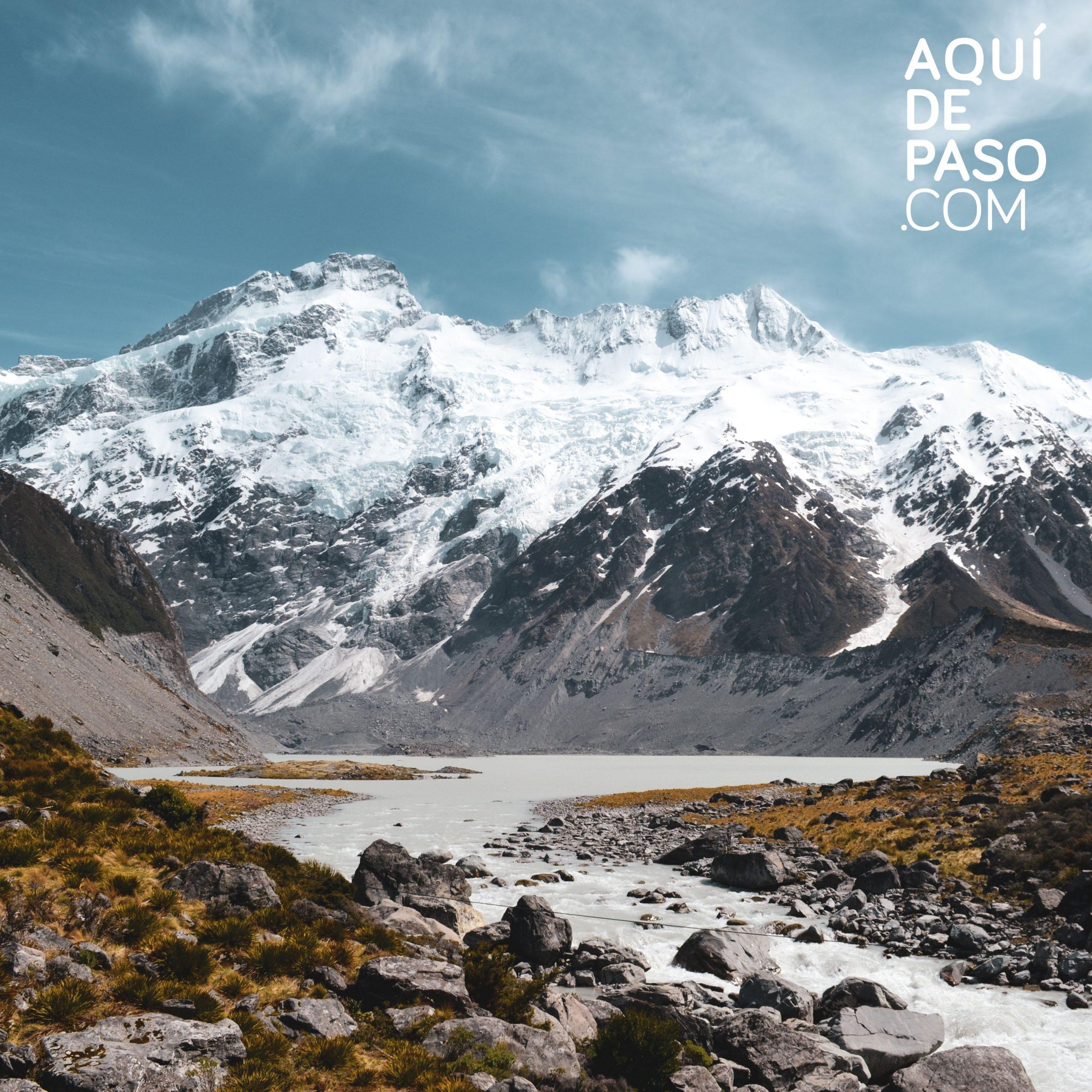 Imperdibles Nueva Zelanda MOUNT COOK - AQUIDEPASO.COM