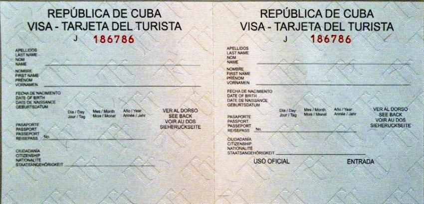 visa para viajar a cuba - aquidepaso.com