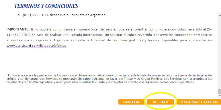 tarjeta Visa Home - Aquidepaso.com