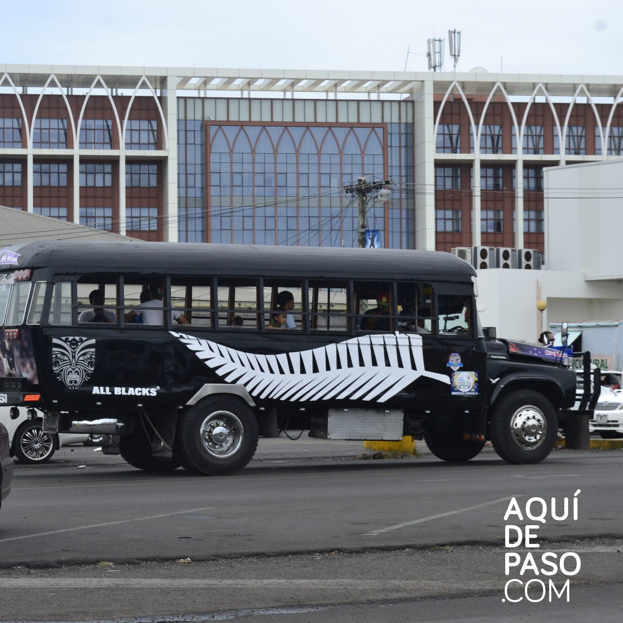 Transporte - Samoa
