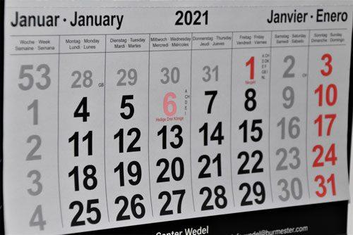 calendario de visas working holiday